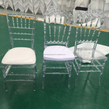 Wholesale Cheap Crystal plastic Clear Resin Wedding Chair Acrylic Transperant Tiffany Chiavari clear plastic chair