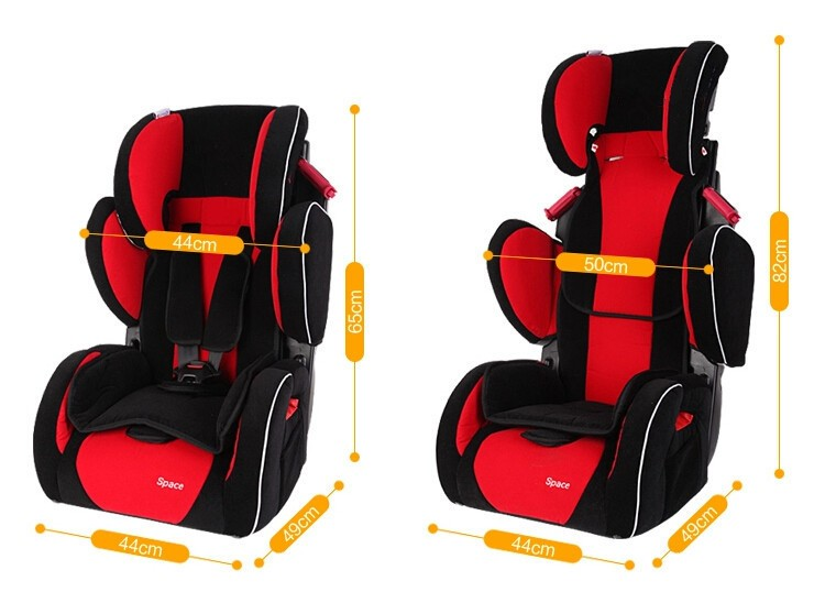 Babysing Luxury Baby Car Seat Kids Carseat Suitable for 9 M to 12 Y