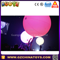 2017 New advertising interactive stage inflatable lED luminous crowd touch balloon ball