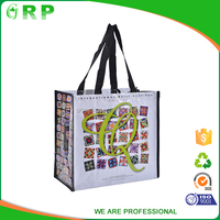 2015 Factory sale eco friendly reusable pp shopping bags china