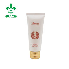 facial cleanser skincare plastic packaging tube