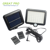 Greatpro Solar Panel Solar Light Separate