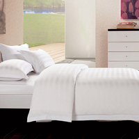 Pure White 5 Stars Hotel Used Korean Bed Sheet