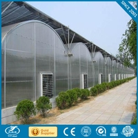 Polycarbonate sheet cover agricultural greenhouse PC Sheet Covered greenhouse