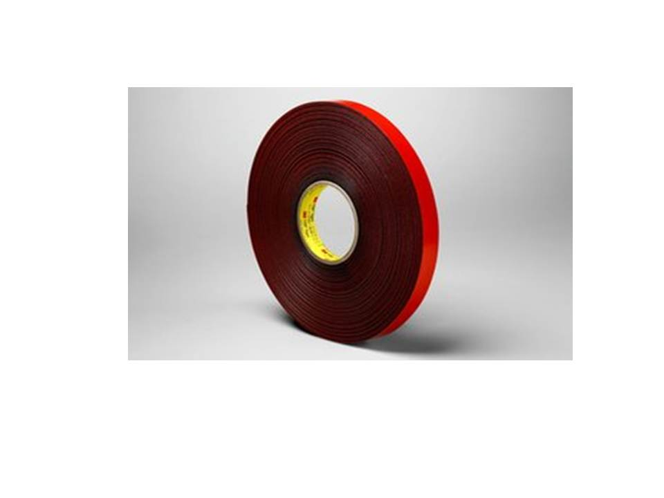 3M VHB Tape 4611 Gray, 3/4 in x 36 yd 45.0 mil, 12 per case