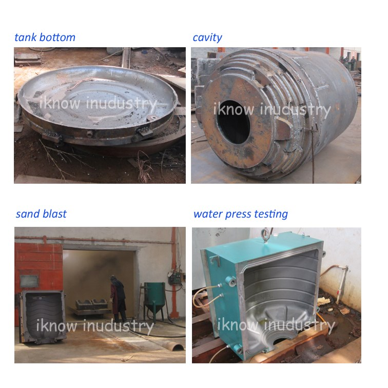 newest design of horizontal water tank mold