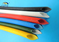 Silicone rubber Fiberglass Sleeveing with Multi Color for insulation appliance