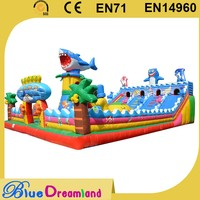High brightness inflatable animal fun city