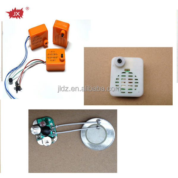 Motion sensor sound module /light sensor music chip