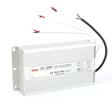 300W 12V Waterproof led Driver IP67 waterproof swith power supply with CE ROHS by WISTRUN