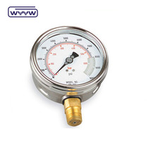 dry stainless steel pressure gauge calibration machine