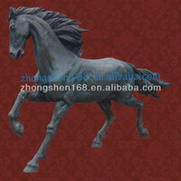 Big Life Size Fiberglass Horse Statue/Sculpture for sale