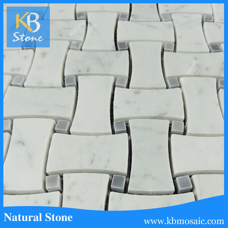2017 KB STONE Carrara Gray Italian Hexagon Marble Prices