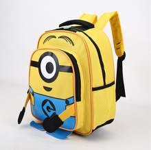 Facoty made waterproof backpacks 3D cartoon school bag for kids