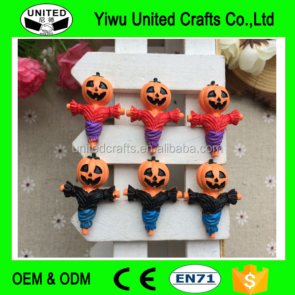 Cartoon Halloween Pumpkins Cabochons for DIY Phone Case Decoration