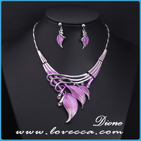 Guangzhou factory high quality necklace earrings jewelry sets