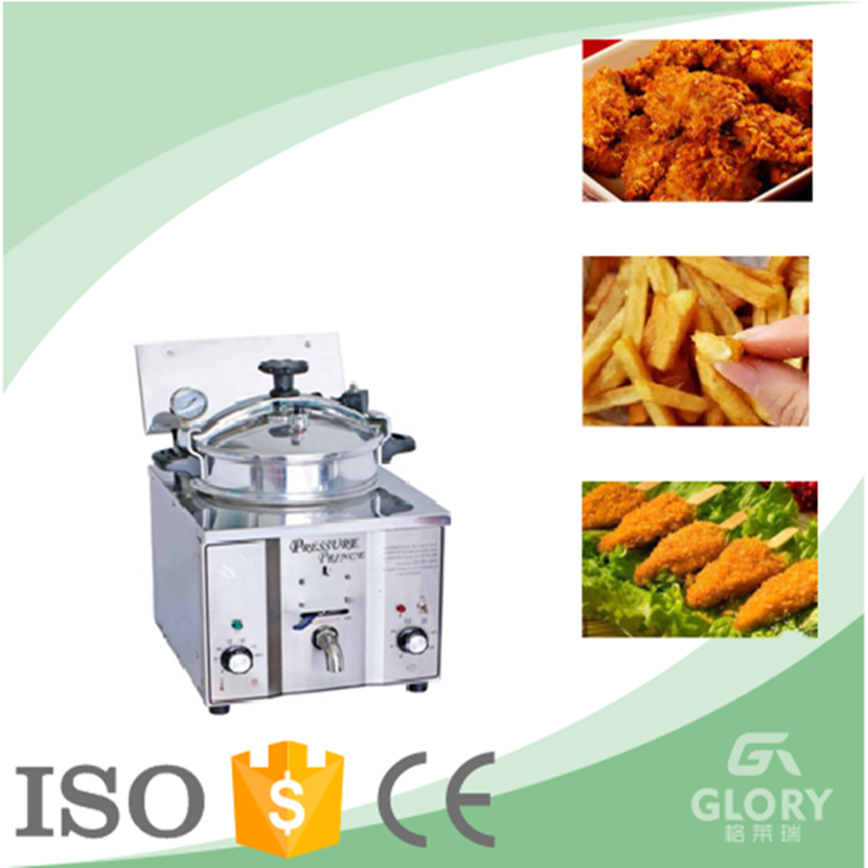 2015 China hot sale electric chicken pressure fryer