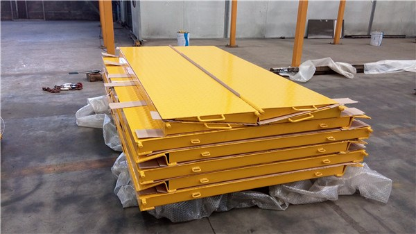 6.5T Capacity mobile container load ramp For Forklift