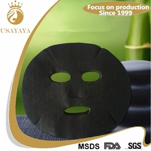 Wholesale bamboo charcoal black facial mask wholesale