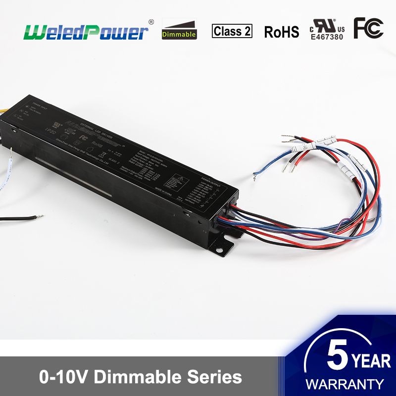 3 Ports Led Driver 0-10V Dimmable Led Power Supply