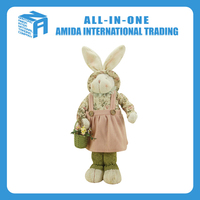 High quality creative customized lovely Christmas gift rabbit dolls