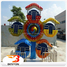 Outdoor Children Games Amusement Park Mini Rides Ferris Wheel For Sale