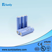 CE,FCC,MSDS Certification approved samsung 18650 lithium ion 3.6v 2200mah battery