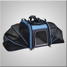 Portable Expandable Pet Carrier give your pet additional room to play