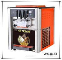 commercial frozen yogurt maker with large capacity and pre-cooling system