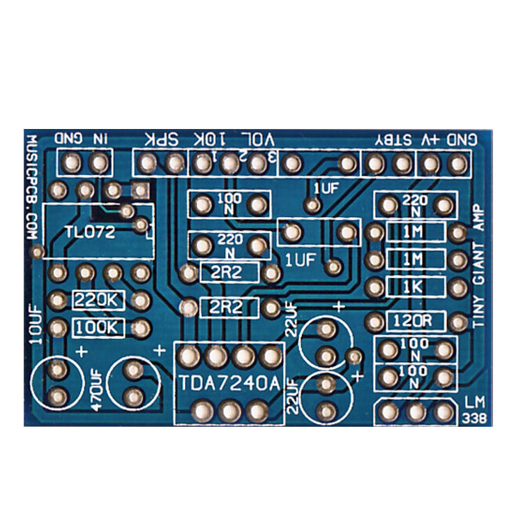Copy PCB Board Hybrid Integrated Amplifier Circuit