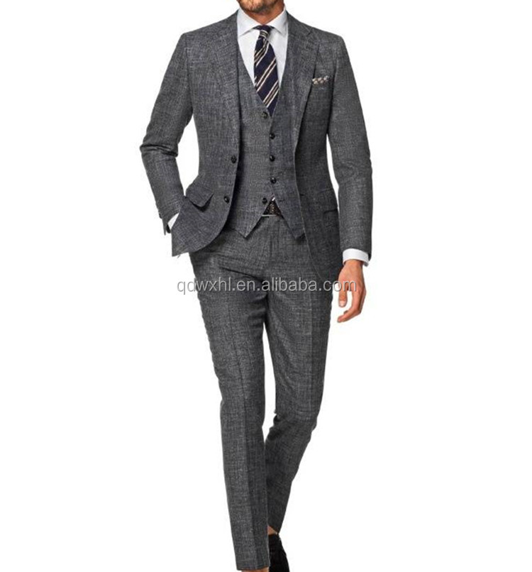 2017 Fashion Tailored Slim Fit Man suit in China Supplier with High Quality
