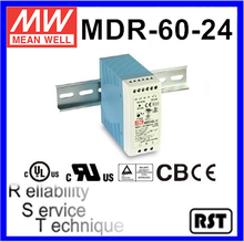 MDR-60-24 Single Output Taiwan Mean Well 60W 24V industrial din rail power supply