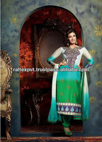 2013 New Embroidery Iran Stylish Multi Color Women's Party Wear Readymade Slawar Kamiz 2013