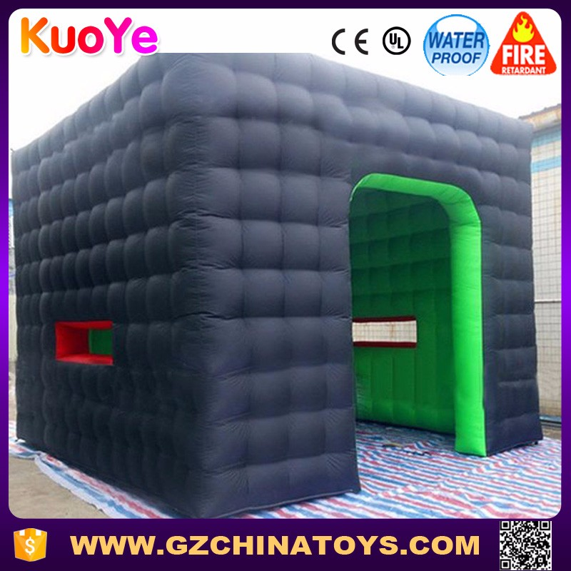 Commercial cube inflatable tent for sale