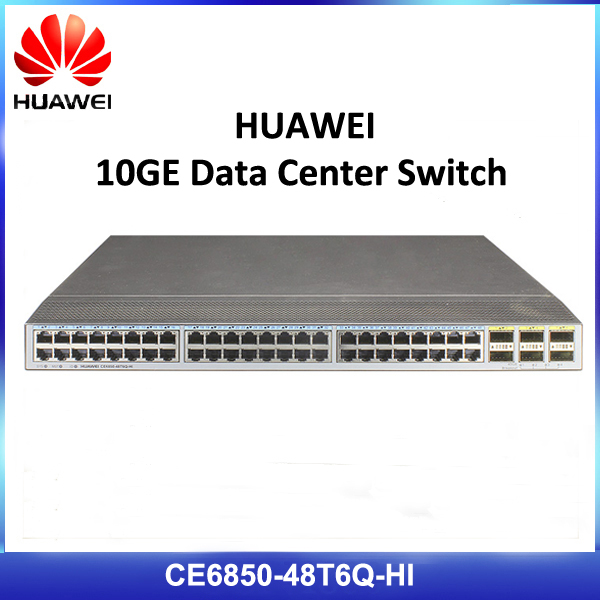 HUAWEI CE6850-48T6Q-HI 48 port 10G Ethernet Routing Switch Hub
