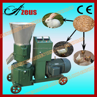 Durable corn gluten feed pellet mill