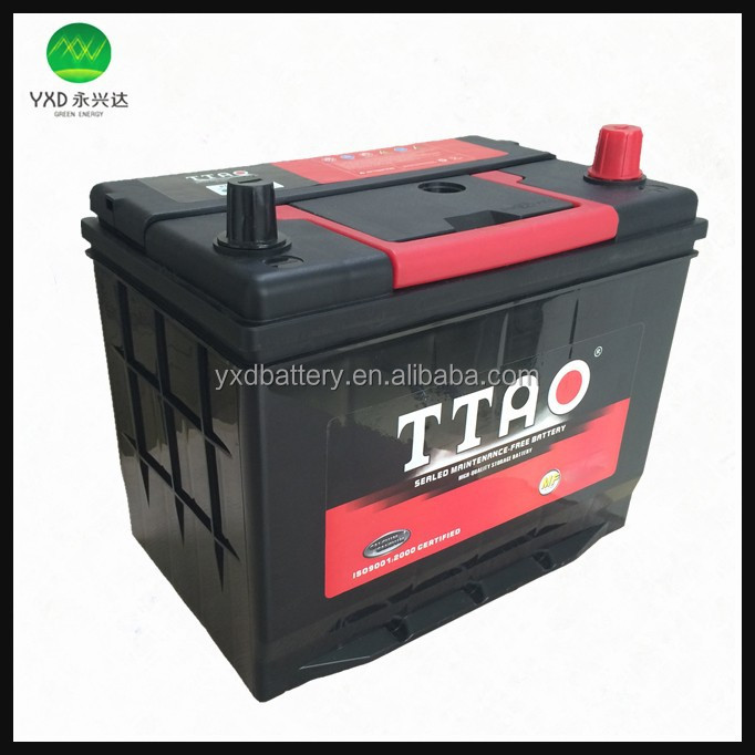 High performance 12V lead acid battery for car battery