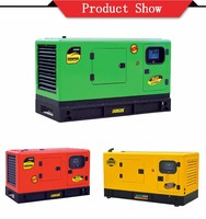 silent Diesel Generator Powered, air to air intercooler
