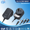 6W 12V 0.5A AC Adapter/Power Supply With GS,SAA,BS,CE,CB