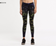 Cheap OEM Compression Pants Sublimation Printed Women Sports Fitness Yoga Leggings