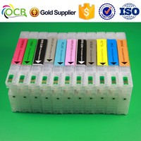 T6531 T6551 Printer Refillable Ink Cartridges, For Epson 4900 4910 empty refill Ink Cartridge