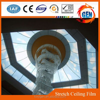 Project easy to clean pvc ceiling and wall decoration system with 15-year warranty for hotels