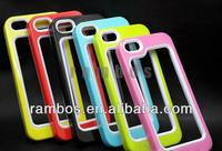 Mobile Phone Hard Skin Frame Bumper Case Cover for iPhone 4 4S