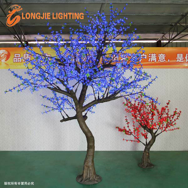 2268 led 2.8m high decorative branch led cherry blossom Christmas tree flower lights