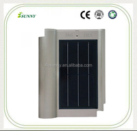 Gray Color 8W 24W 50W Ceramic Roof Solar Tile With Mono Panel