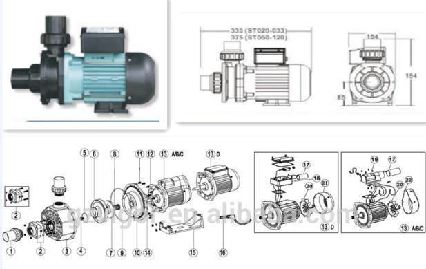 sc series high pressure electric water pump motor price buy ford 302 water flow diagram engine diagram water pump #8
