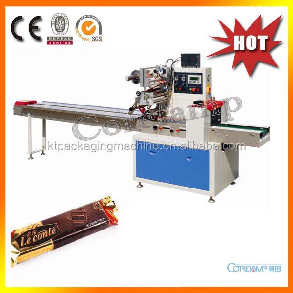 Horizontal Flow Automatic Chocolate Bar Packing Machine