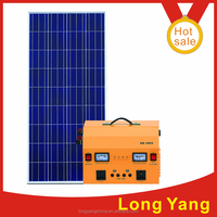 300W 450W solar power DC and AC system solar powered home generators complete home solar power system