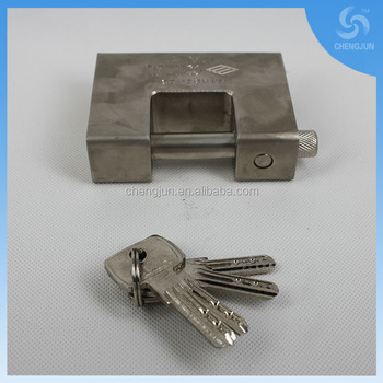 High quality brass and iron two material giant padlock