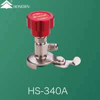 R134a for Automotive Can tap valve HS-340A